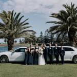 Budget Wedding Dresses | My bridesmaids looked beautiful, we went with dark navy and they where flattering for each girl. The dresses where great quality. Lacey was super helpful.